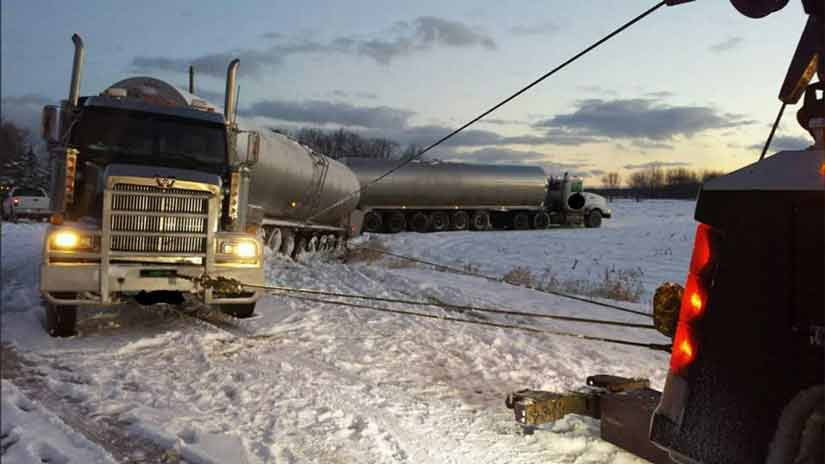 Heavy Truck Recovery Central Michigan ~ US-131, M-37, M-46