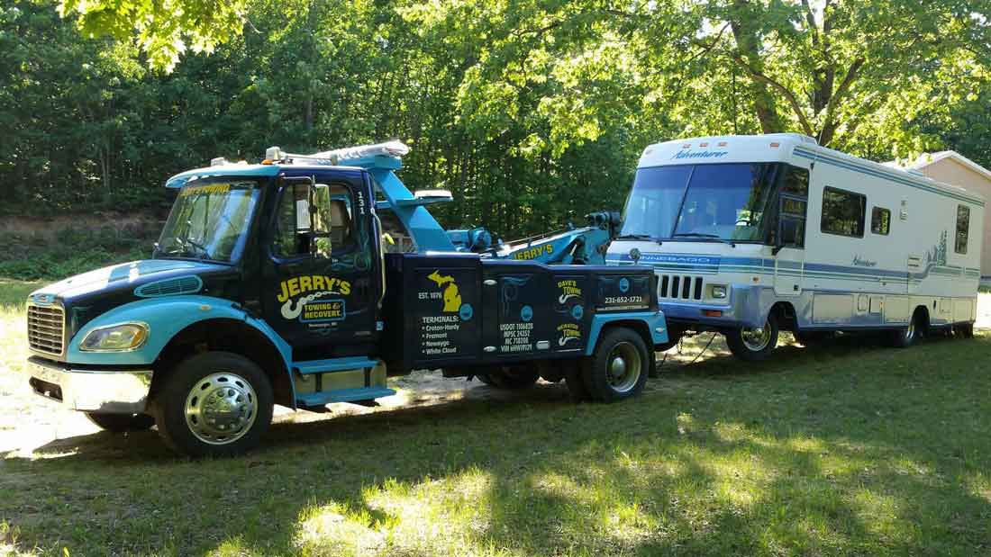 Central Michigan RV Towing